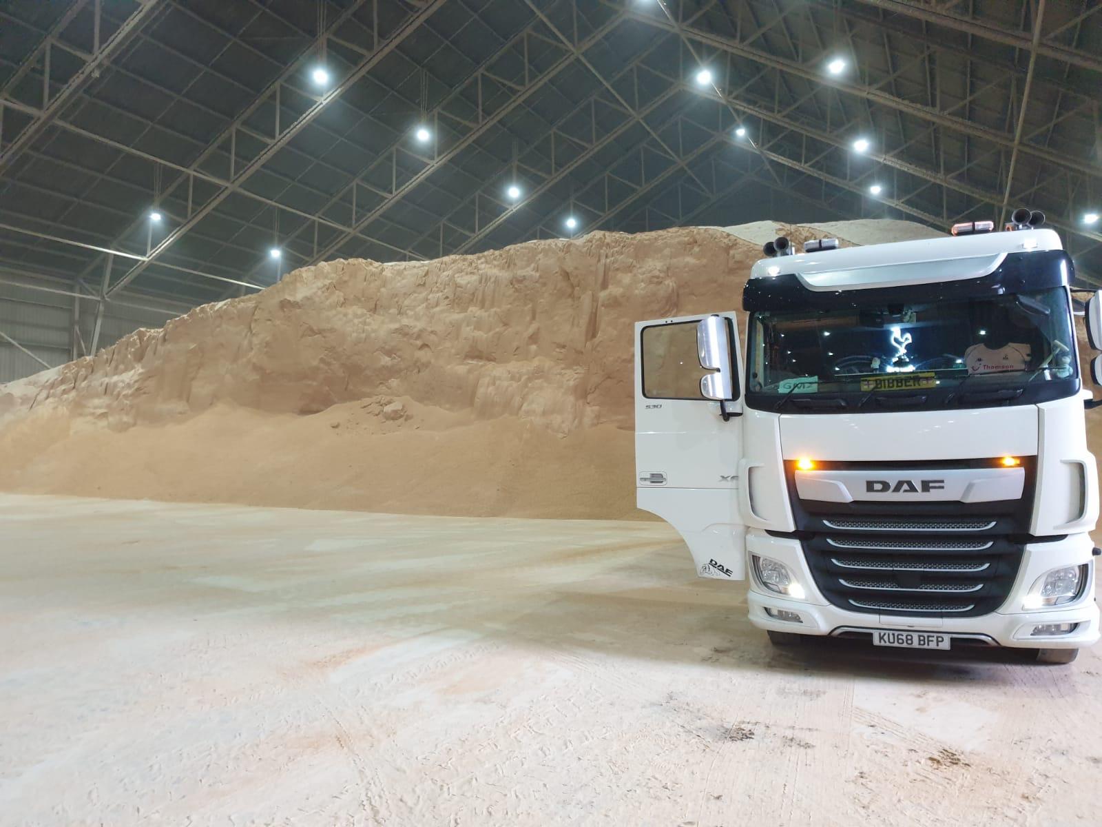 DAF Truck, part of the Hopcrofts Transport fleet